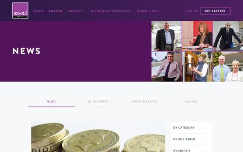 Screenshot of Blog Press Page assetzcapital.co.uk - Blog | Assetz Capital - captured Dec. 26, 2015