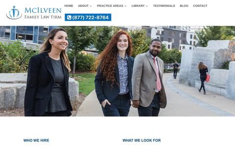 Employment Opportunities | McIlveen Family Law Firm