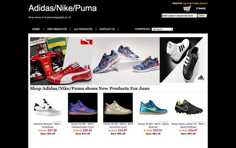 Screenshot of Home Page meatmail.co.nz - Discount Brand Sport Shoes |Adidas & Nike & Puma  Online Store in UK - captured June 10, 2017