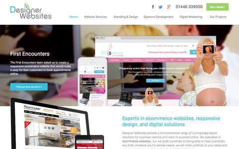Screenshot of Home Page designer-websites.co.uk - Ecommerce Website Developers | Designer Websites - captured Feb. 9, 2016
