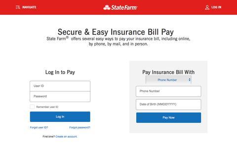 Insurance Bill Pay - State Farm®