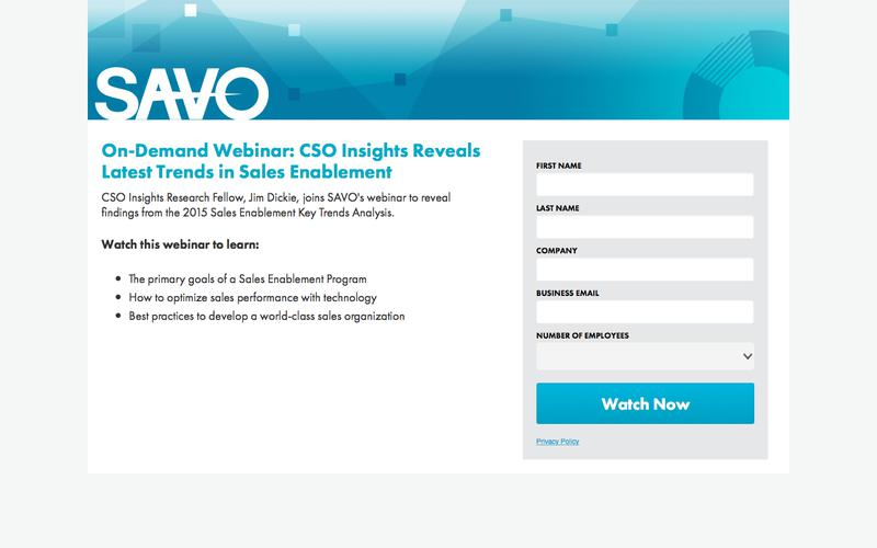 CSO Insights Reveals Latest Trends in Sales Enablement