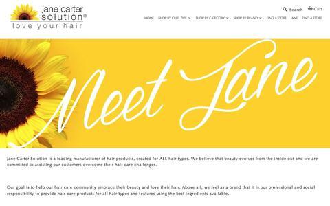 Screenshot of About Page janecartersolution.com - | Jane Carter Solution - captured Sept. 20, 2018