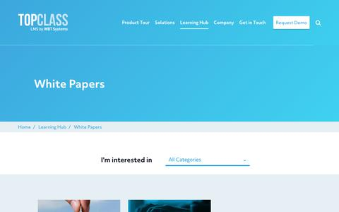Screenshot of Case Studies Page wbtsystems.com - Read and download white papers | WBT Systems - captured Jan. 11, 2020