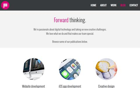 Screenshot of Blog jacsomedia.hu - Jacsomedia - Creative Visual Solutions - Multimedia Studio & Agency - Web, Apps, Design, Multimedia - Blog - captured Oct. 6, 2014