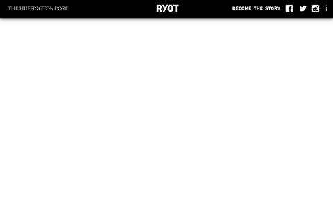 Screenshot of Contact Page huffingtonpost.com - About - RYOT | The Huffington Post - captured Aug. 15, 2016