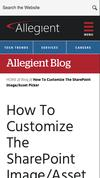 New Landing Page Allegient, LLC