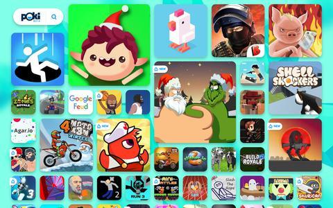 Screenshot of Home Page poki.pt - JOGOS ONLINE GRÁTIS - Jogue os Melhores Jogos no Poki.pt! - captured Dec. 18, 2018