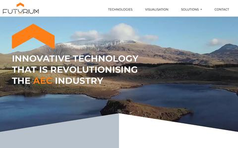 Screenshot of Home Page futurium.co.uk - Futurium - Customized 3D solutions - captured Nov. 6, 2018