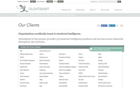TalentSmart Clients