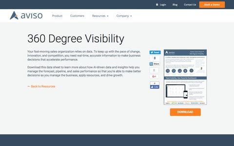 360 Degree Visibility   Aviso