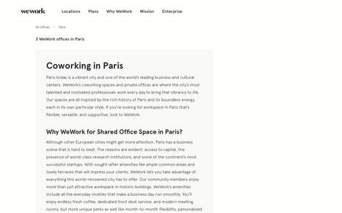 Paris Coworking Offices | WeWork