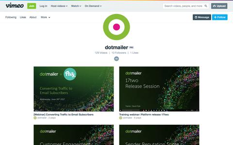 dotmailer on Vimeo