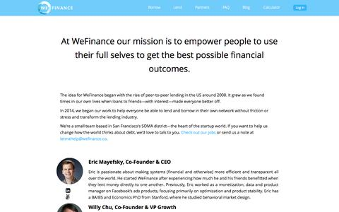 About WeFinance