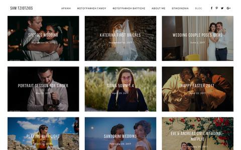Screenshot of Blog timenio.info - photography projects Archives - Timenio Photography - captured Oct. 13, 2017