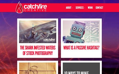 Screenshot of Blog catchfirecreative.com - Blog - CatchFire Creative | Digital Marketing Agency - captured Sept. 29, 2014