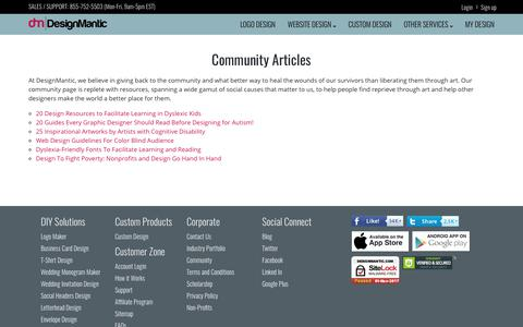 Designing for Community Articles | DesignMantic