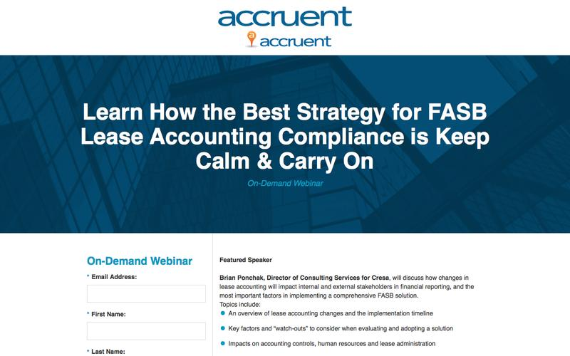 Learn How the Best Strategy for FASB Lease Accounting Compliance is Keep Calm & Carry On