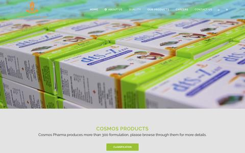 Low traffic Biotech Products Pages on WordPress | Website