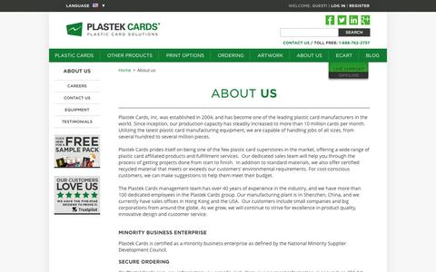 Plastic Card Printing for business cards, loyalty, gift and membership cards