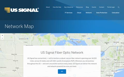 Network Map | US Signal