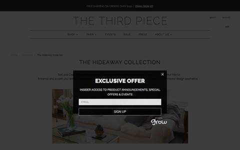 The Hideaway Collection | The 3rd Piece