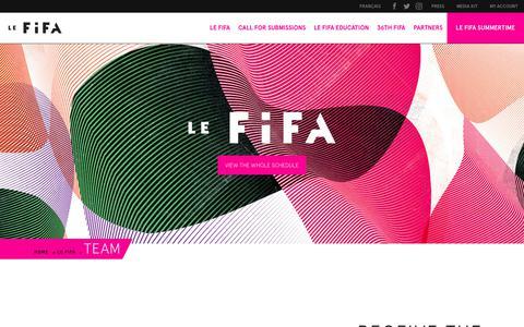 Screenshot of Team Page artfifa.com - Team - Artfifa 2018 - captured Oct. 10, 2018