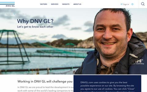 Screenshot of Jobs Page dnvgl.com - Why DNV GL? - DNV GL - captured June 4, 2019