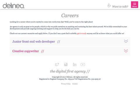 Delineo| Careers