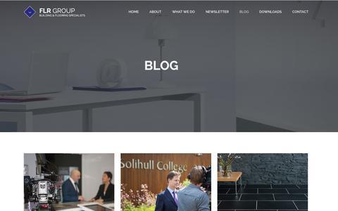 Screenshot of Blog flr.co.uk - Blog | FLR Group | FLR Group - captured Oct. 5, 2014