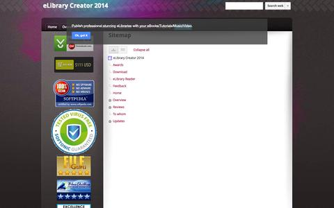 Screenshot of Site Map Page svicindia.com - Sitemap - eLibrary Creator 2014 - captured Oct. 3, 2014