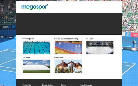 Screenshot of Products Page megaspor.com - Megaspor - captured Sept. 20, 2018