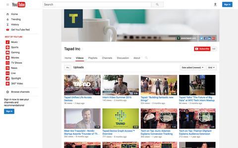 Tapad Inc  - YouTube