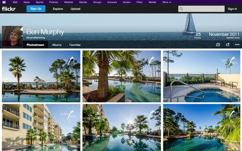Screenshot of Flickr Page flickr.com - Flickr: MurphyMarketing's Photostream - captured Oct. 26, 2014