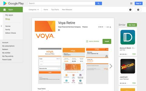 Voya Retire - Android Apps on Google Play