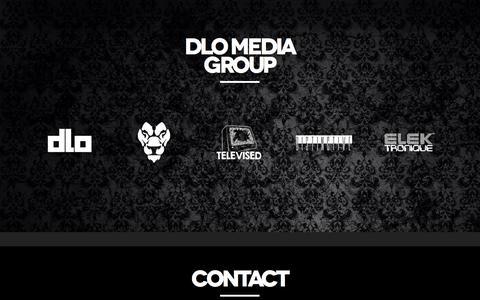 Screenshot of Home Page dlomediagroup.com captured Feb. 21, 2016