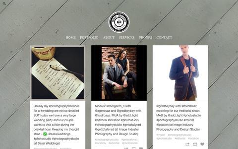 Screenshot of Blog tumblr.com - Photography & Design Studio - captured Nov. 3, 2014