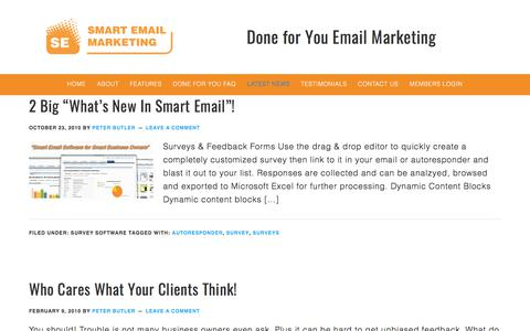 Latest News - Smart Email