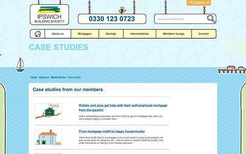 Screenshot of Case Studies Page ibs.co.uk - Case Studies | Ipswich Building Society - Ipswich Building Society - captured Oct. 12, 2018