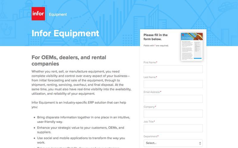 Infor Equipment