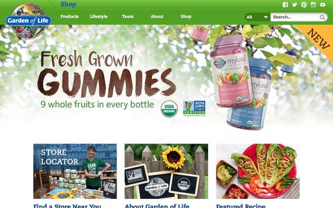 Organic, Non-GMO, RAW Whole Food Supplements   Garden of Life