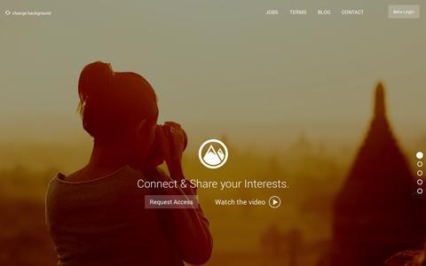 Screenshot of Home Page showzee.com - Showzee - captured Jan. 29, 2015