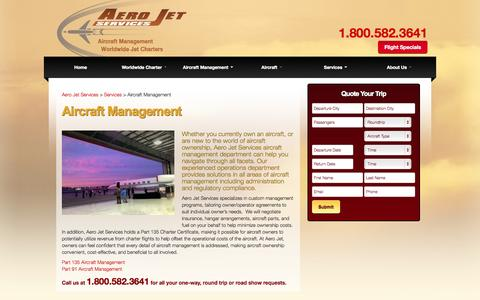 Screenshot of Team Page aerojetservices.com - Executive Jet Management - Aircraft Management - Private Jet Management - captured Sept. 30, 2014