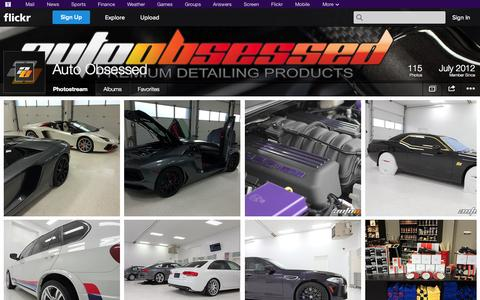 Screenshot of Flickr Page flickr.com - Flickr: Auto Obsessed's Photostream - captured Oct. 23, 2014