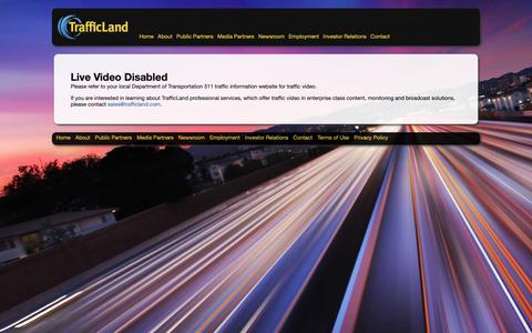 Screenshot of Maps & Directions Page trafficland.com - Live Video Disabled | TrafficLand, Inc. - captured Oct. 12, 2018