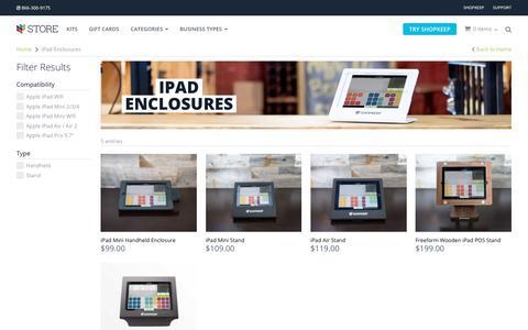 POS iPad Enclosures | iPad POS Hardware | ShopKeep Store