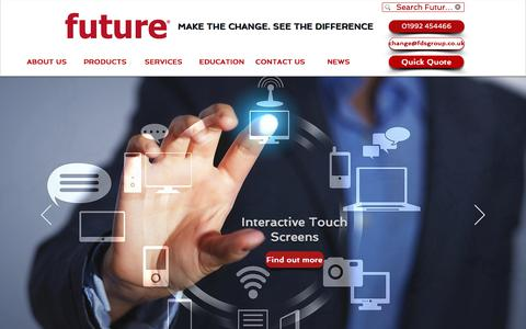 Screenshot of Home Page fdsgroup.co.uk - Managed Print Service | Hoddesdon | Future Digital Systems - captured July 8, 2018