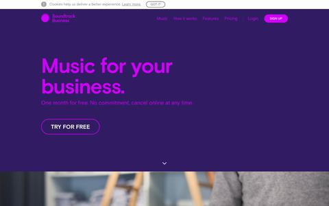 Music for Business | Soundtrack Business