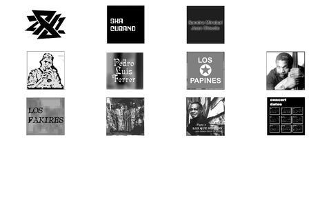 Screenshot of Home Page jazzconexion.com - jazzconexion and proyecto comparsa oriental, information, management, cuba,  rumba, son, jazz, guanguanco, papines, latin, latina, tata, guines, havana, habana,  santiago, oriente, tour, management, reyes, maria, chano, ismael, jorge, ochoa,  pozo, b - captured Sept. 30, 2014