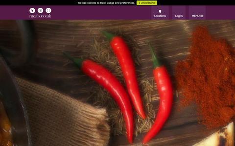 Screenshot of Home Page meals.co.uk - Great Takeaway Food Delivered   meals.co.uk - captured Sept. 23, 2014